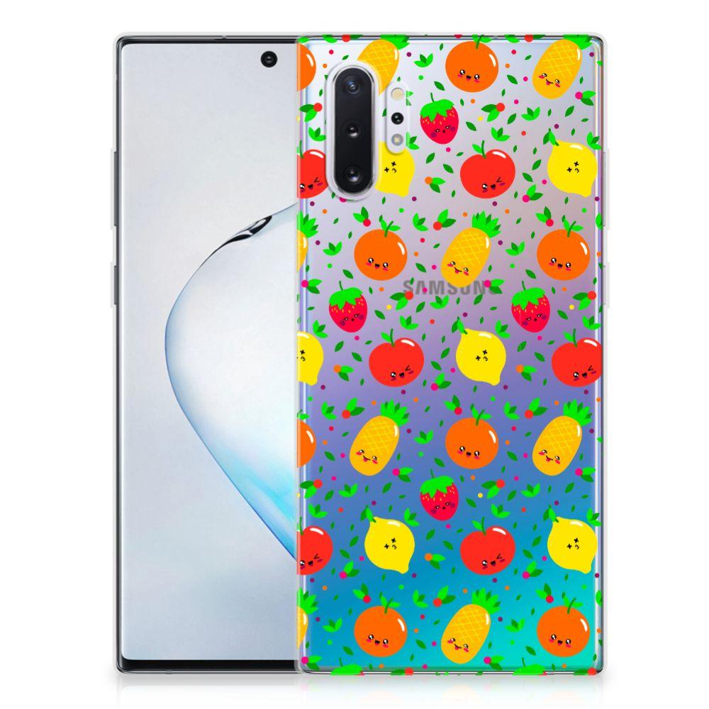 Samsung Galaxy Note 10 Plus Siliconen Case Fruits