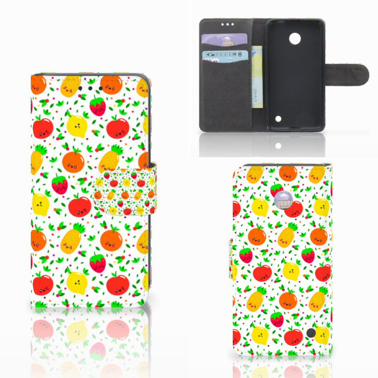 Nokia Lumia 630 Book Cover Fruits