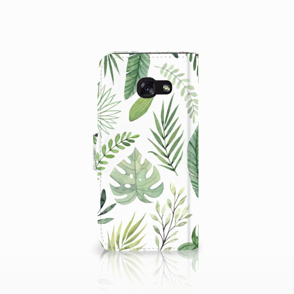 Samsung Galaxy A5 2017 Hoesje Leaves