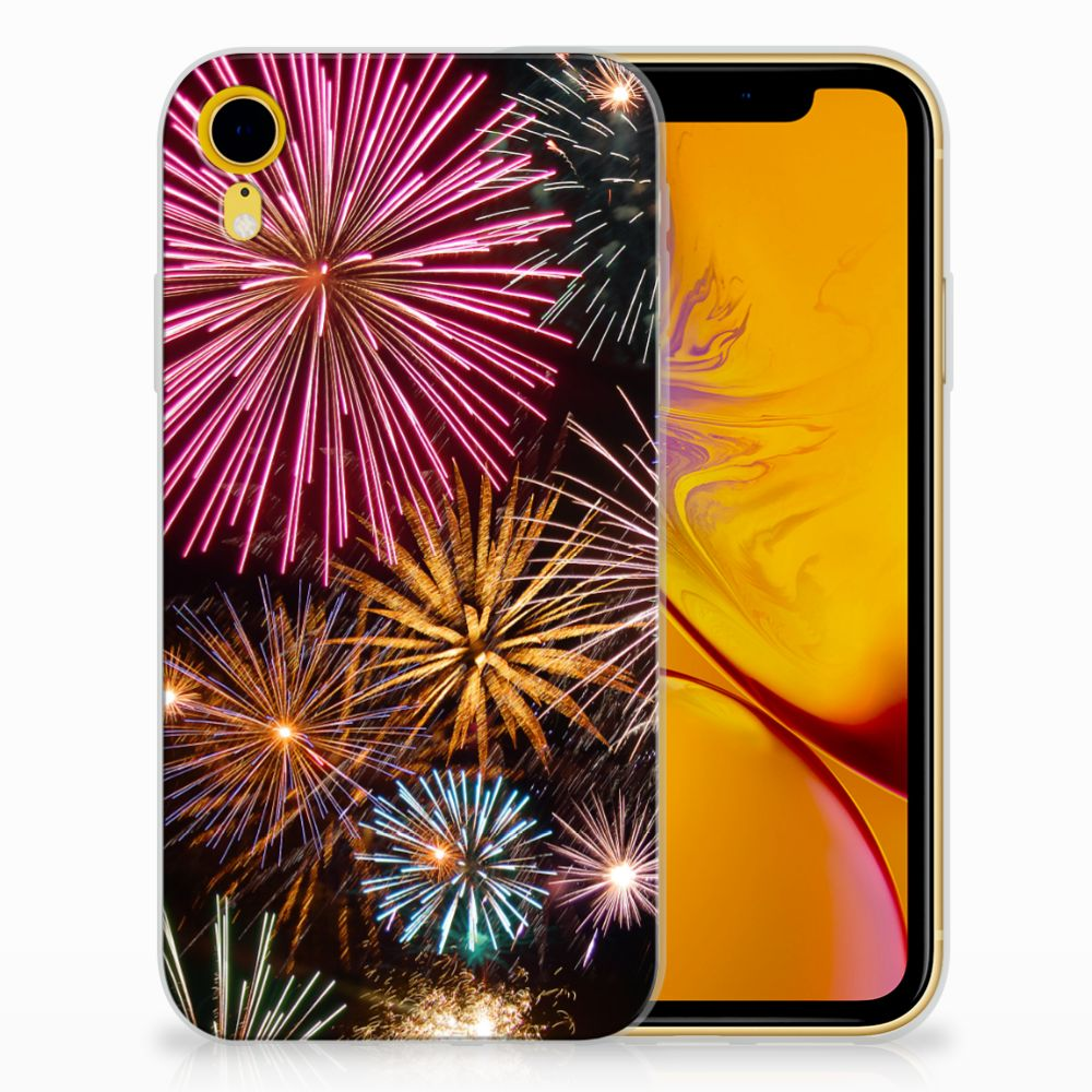 Apple iPhone Xr TPU Hoesje Design Vuurwerk