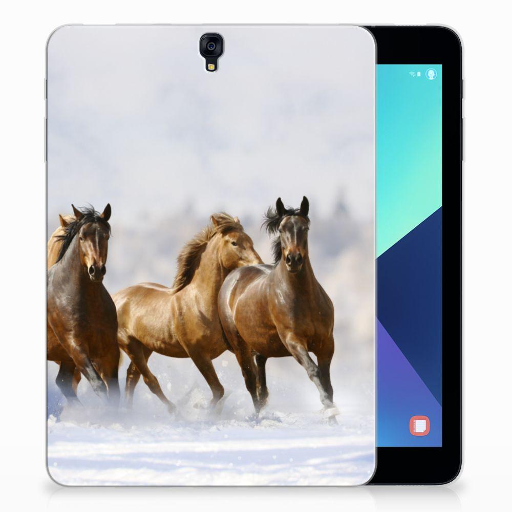 Samsung Galaxy Tab S3 9.7 Uniek Tablethoesje Paarden