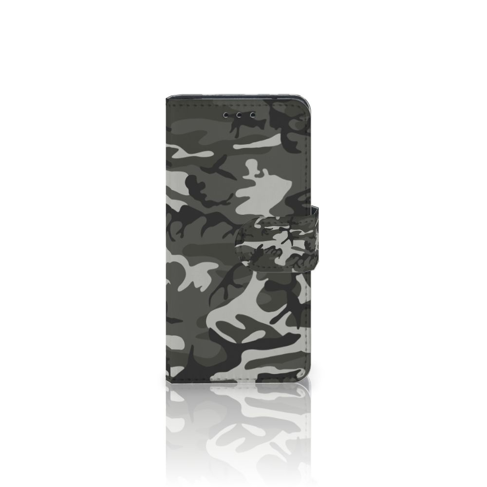 Galaxy S5 Mini Uniek Boekhoesje Army Light