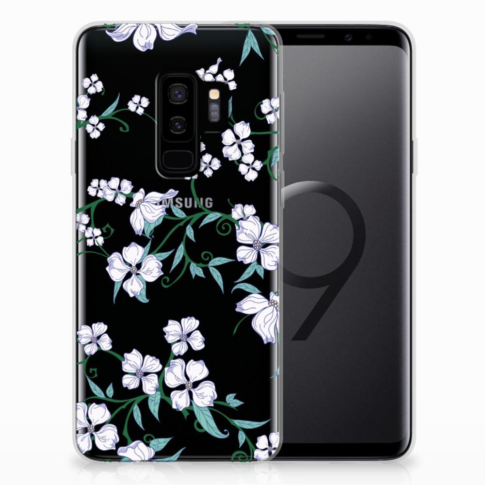 Samsung Galaxy S9 Plus Uniek TPU Case Blossom White