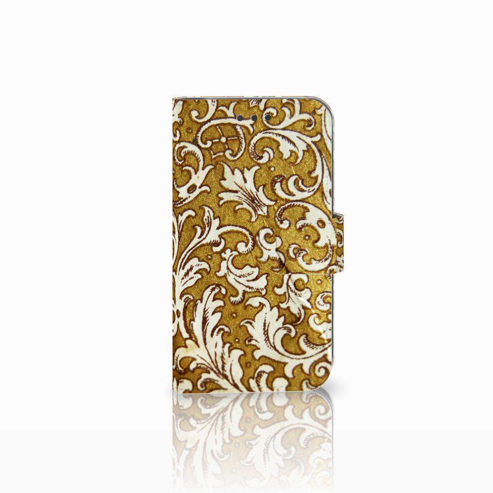 Wallet Case Samsung Galaxy S3 i9300 Barok Goud