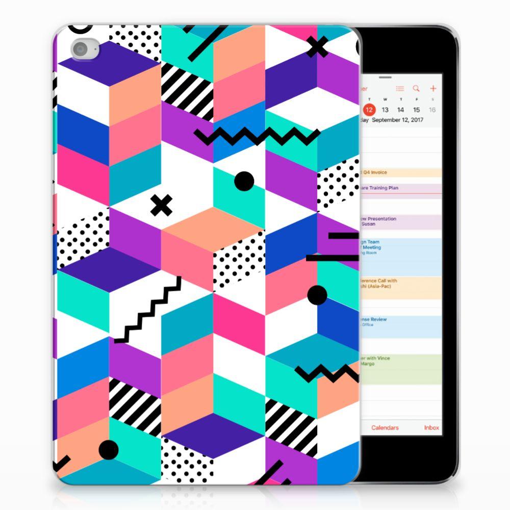 Apple iPad Mini 4   Mini 5 (2019) Back Cover Blokken Kleurrijk