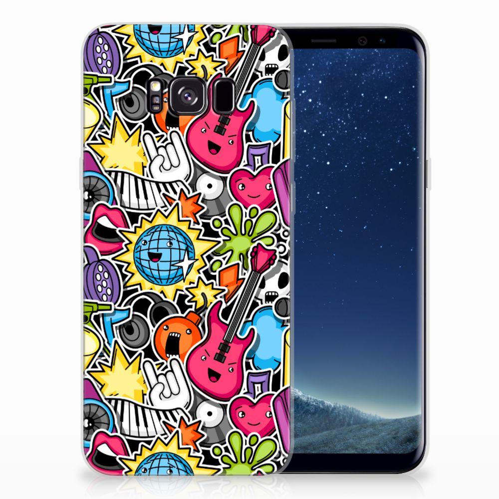 Samsung Galaxy S8 Plus Silicone Back Cover Punk Rock