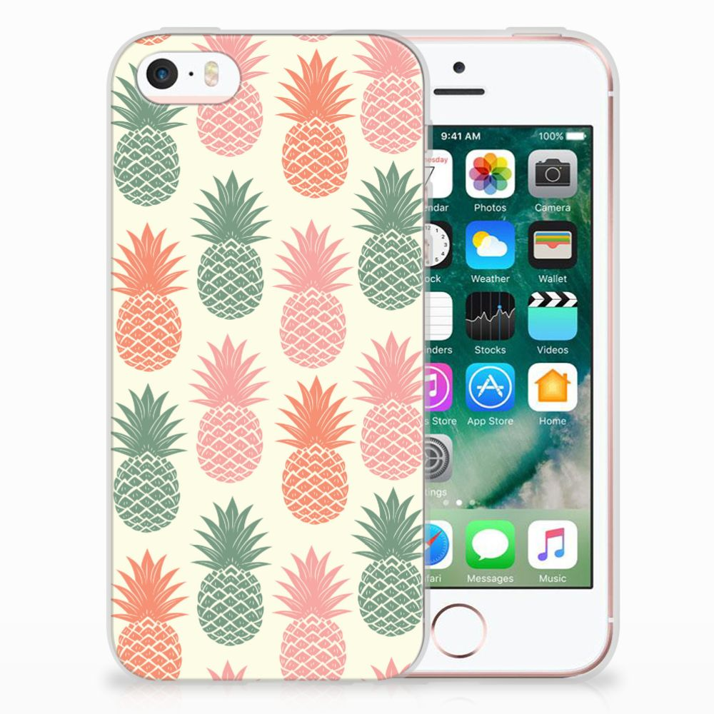 Apple iPhone SE | 5S TPU Hoesje Design Ananas