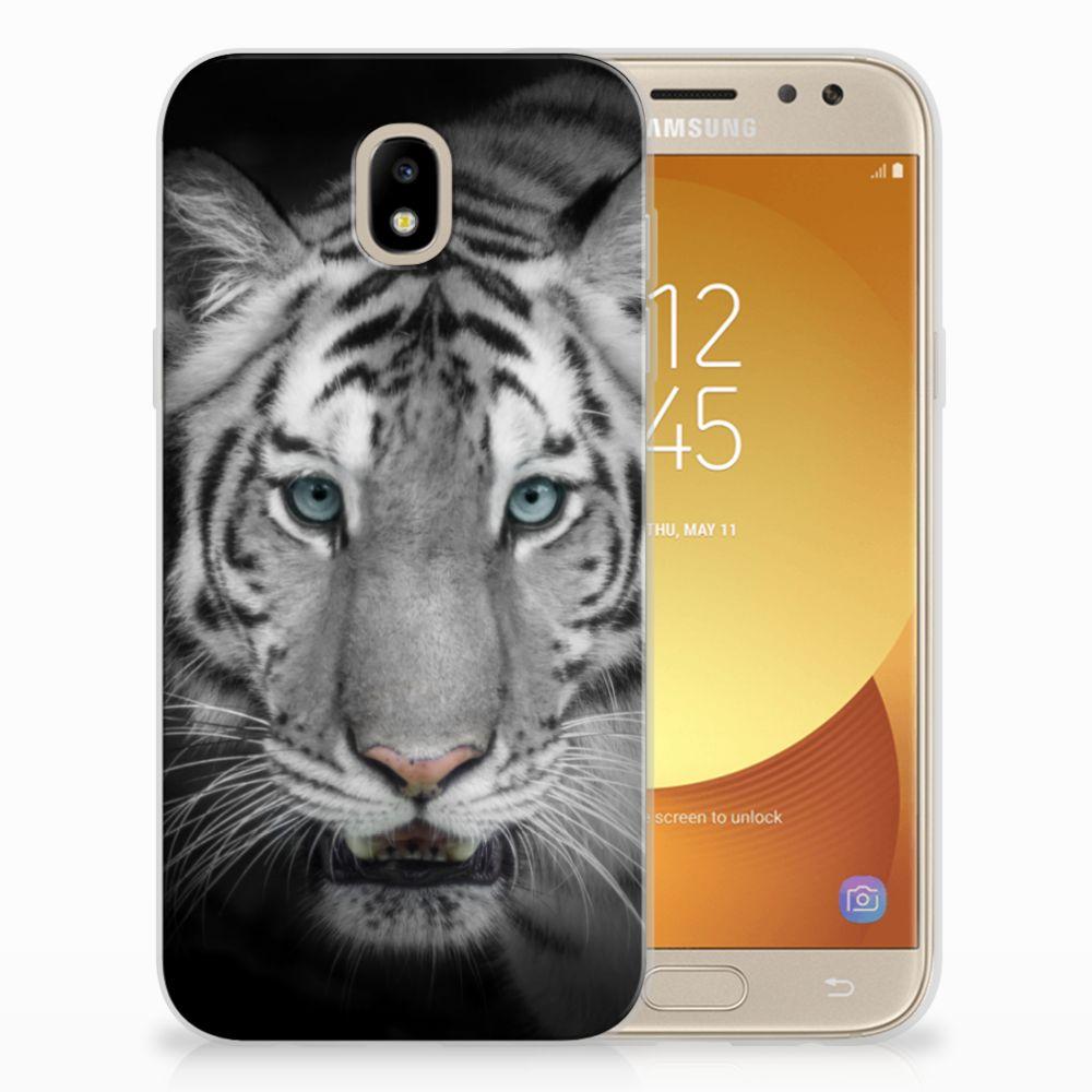 Samsung Galaxy J5 2017 Uniek TPU Hoesje Tijger