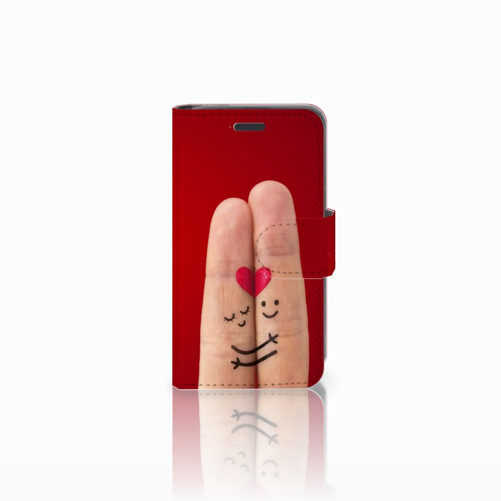 Nokia Lumia 520 Uniek Boekhoesje Liefde
