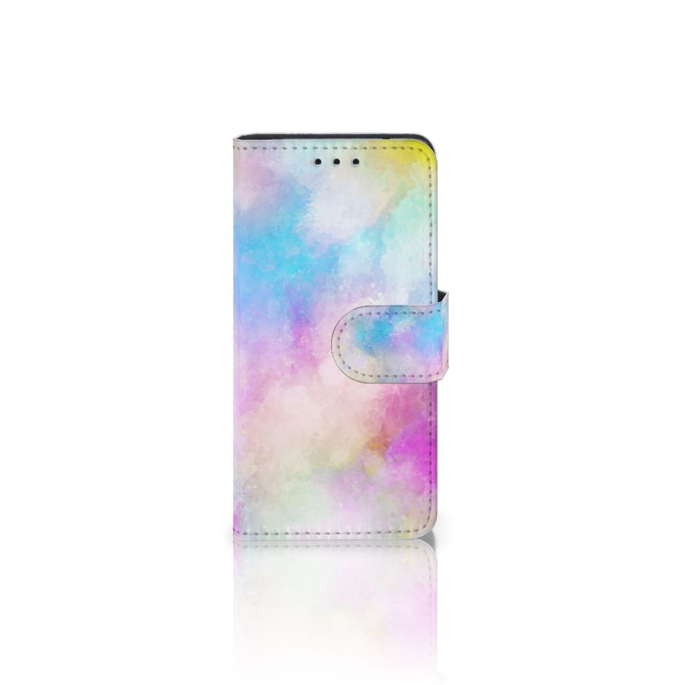 Samsung Galaxy S5 Mini Uniek Boekhoesje Watercolor Light