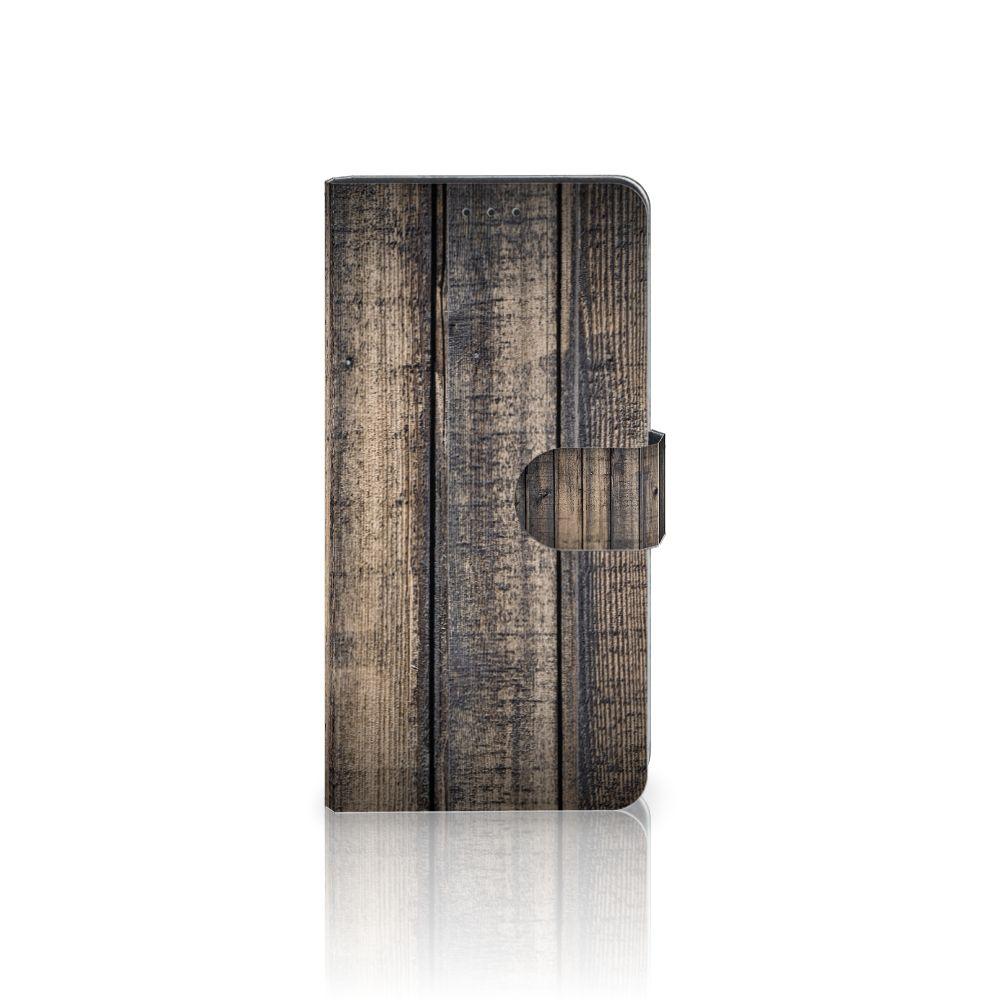 Samsung Galaxy A7 (2018) Boekhoesje Design Steigerhout