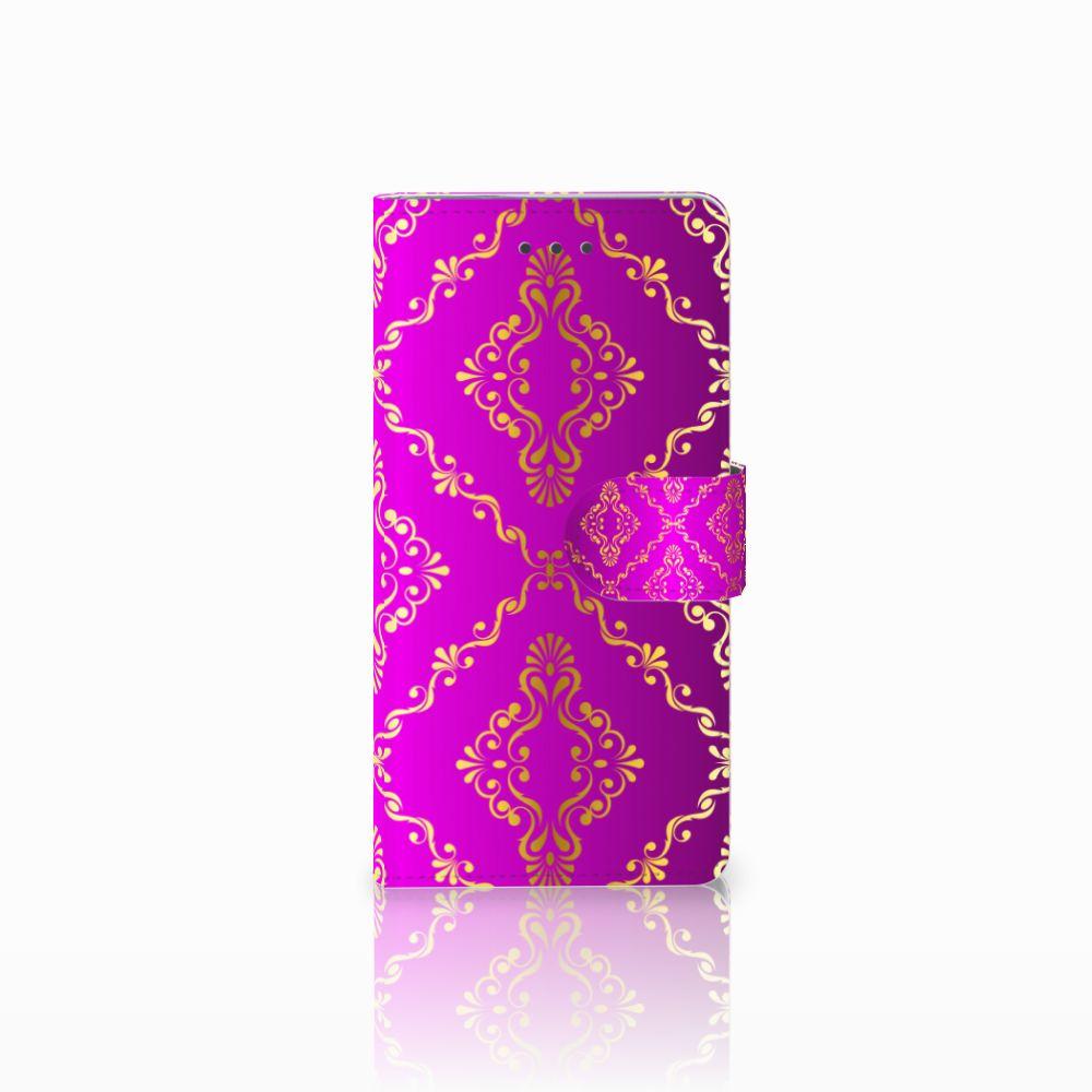 Wallet Case Huawei P8 Barok Roze