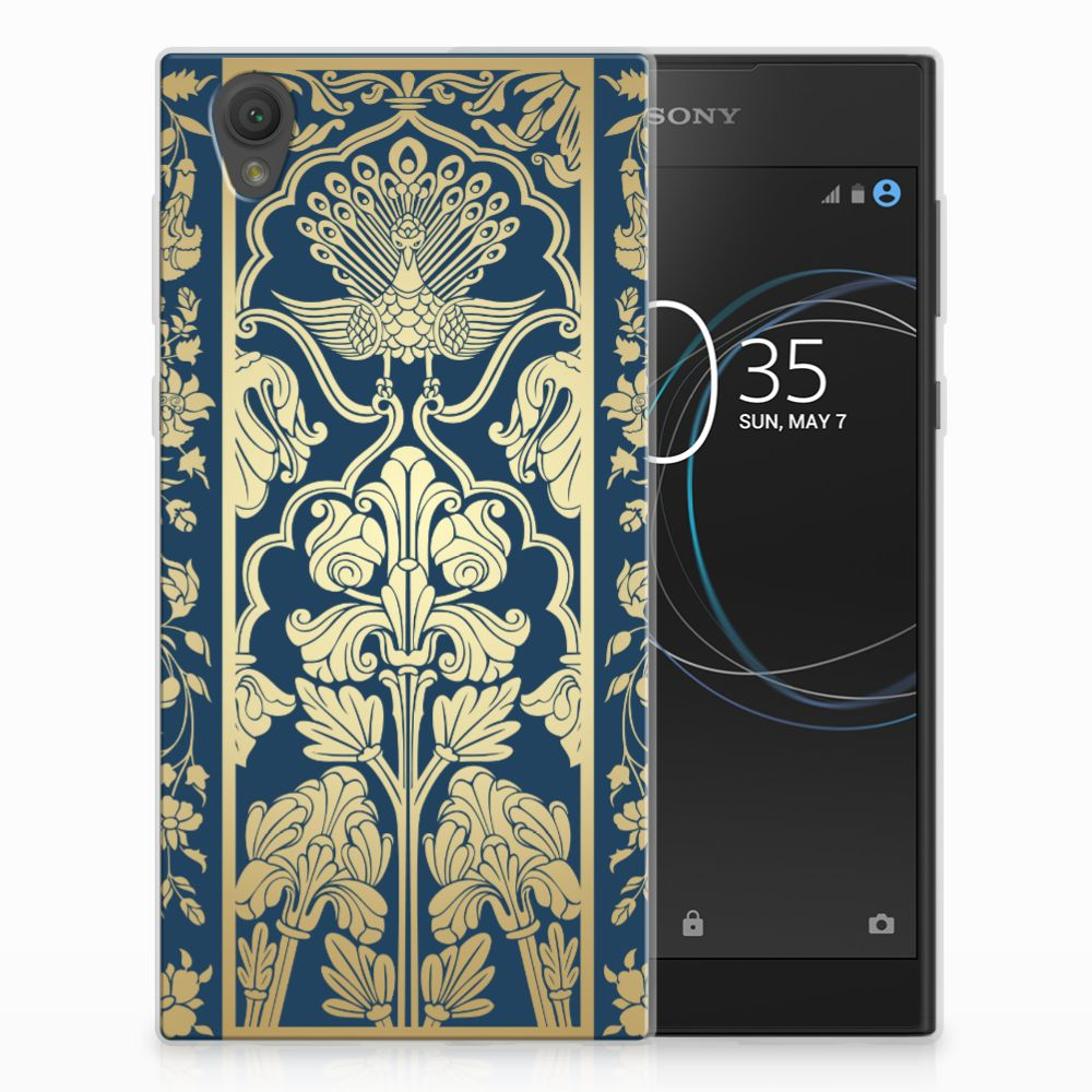 Sony Xperia L1 TPU Case Golden Flowers