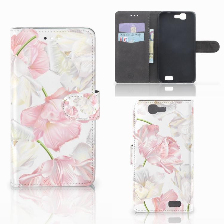 Huawei Ascend G7 Hoesje Lovely Flowers