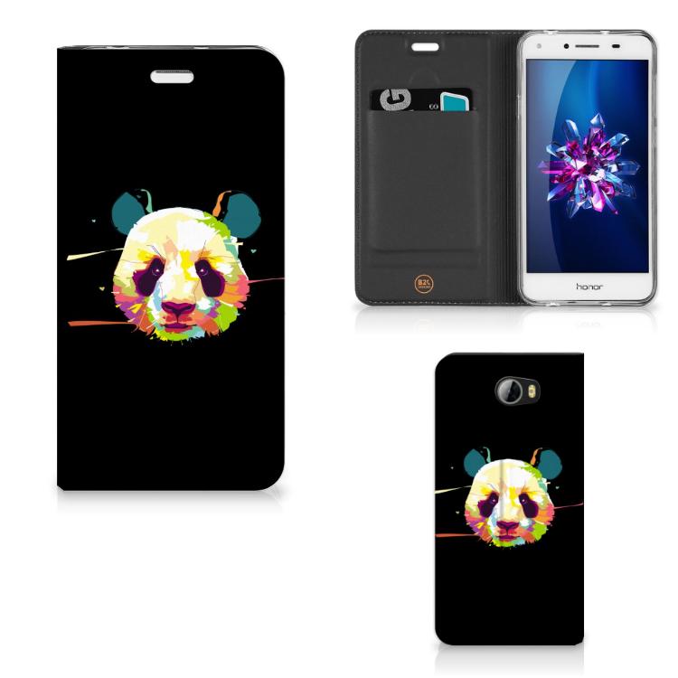 Huawei Y5 2   Y6 Compact Magnet Case Panda Color
