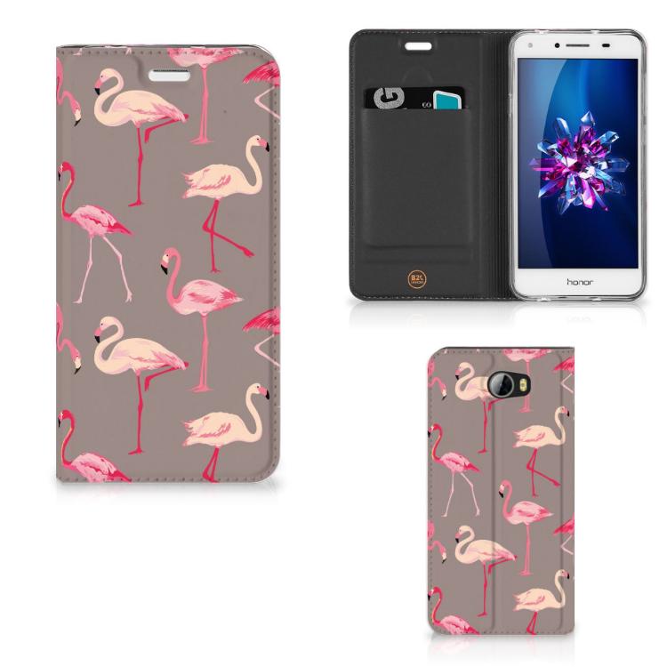 Huawei Y5 2   Y6 Compact Hoesje maken Flamingo