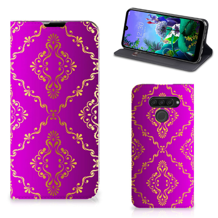 Telefoon Hoesje LG Q60 Barok Roze