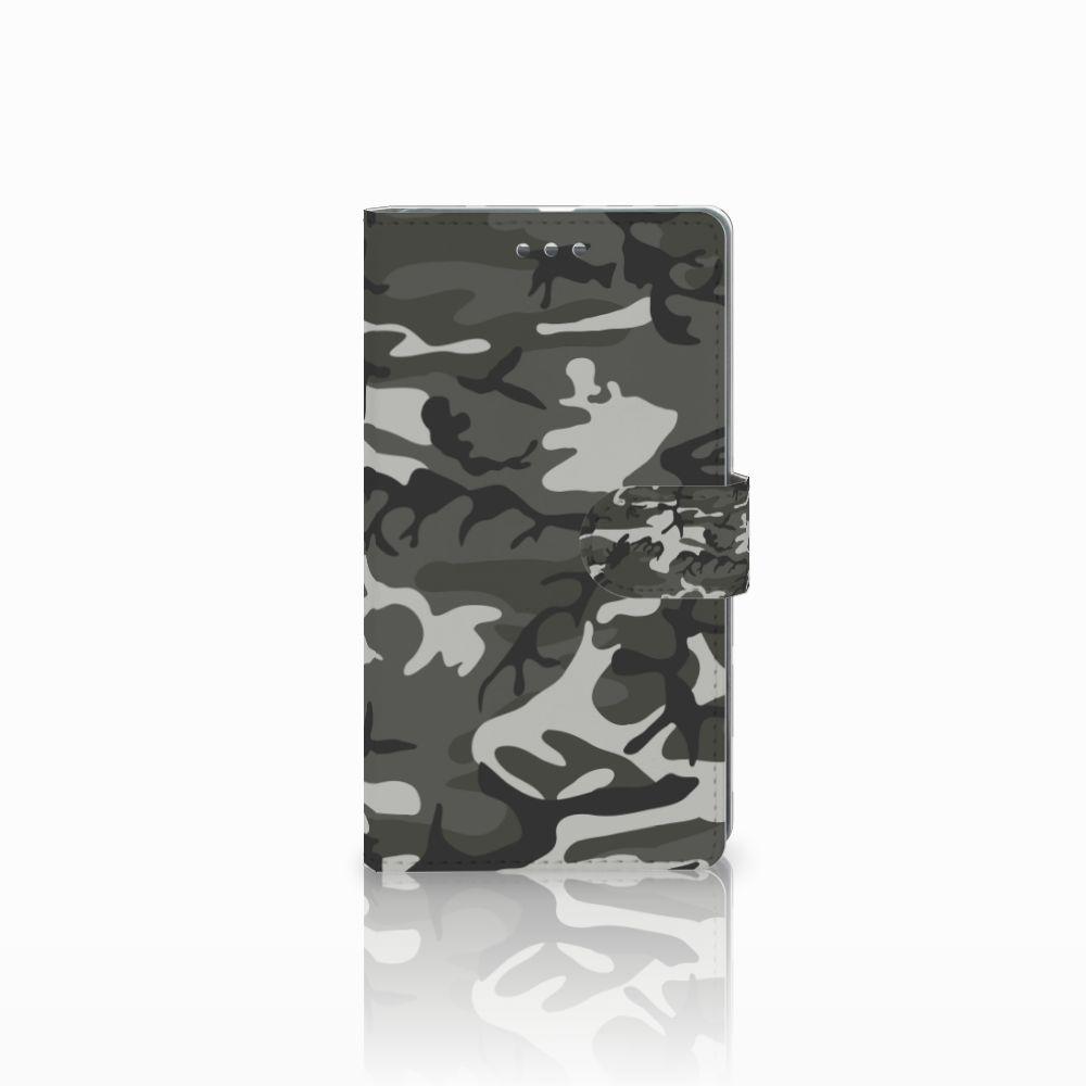 Microsoft Lumia 950 XL Uniek Boekhoesje Army Light