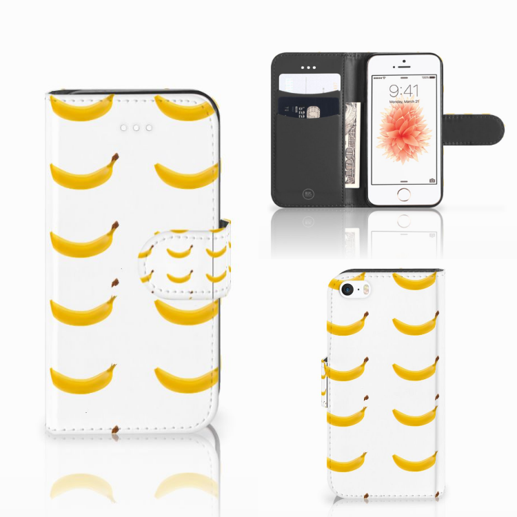 Apple iPhone 5 | 5s | SE Book Cover Banana