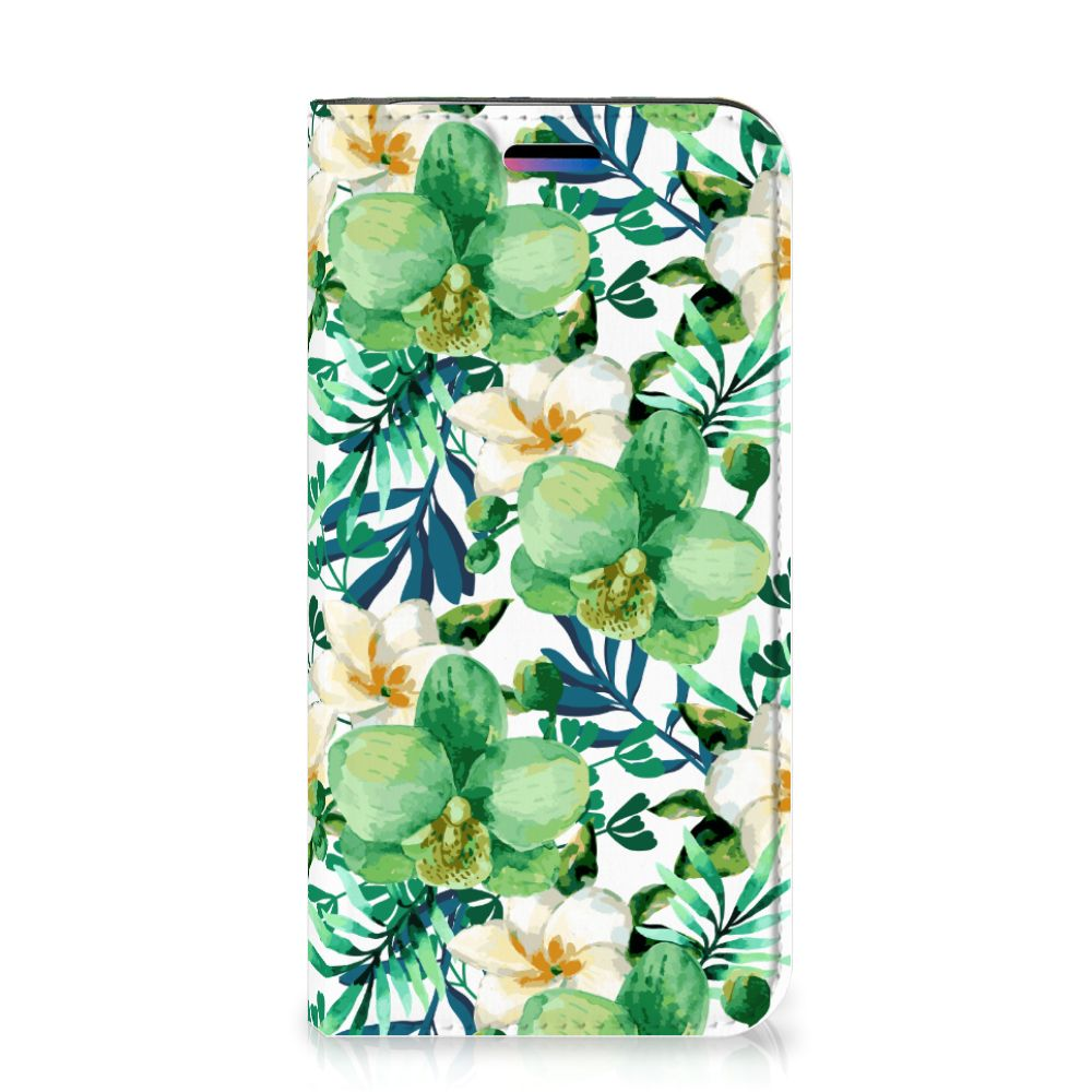 Apple iPhone X | Xs Smart Cover Orchidee Groen