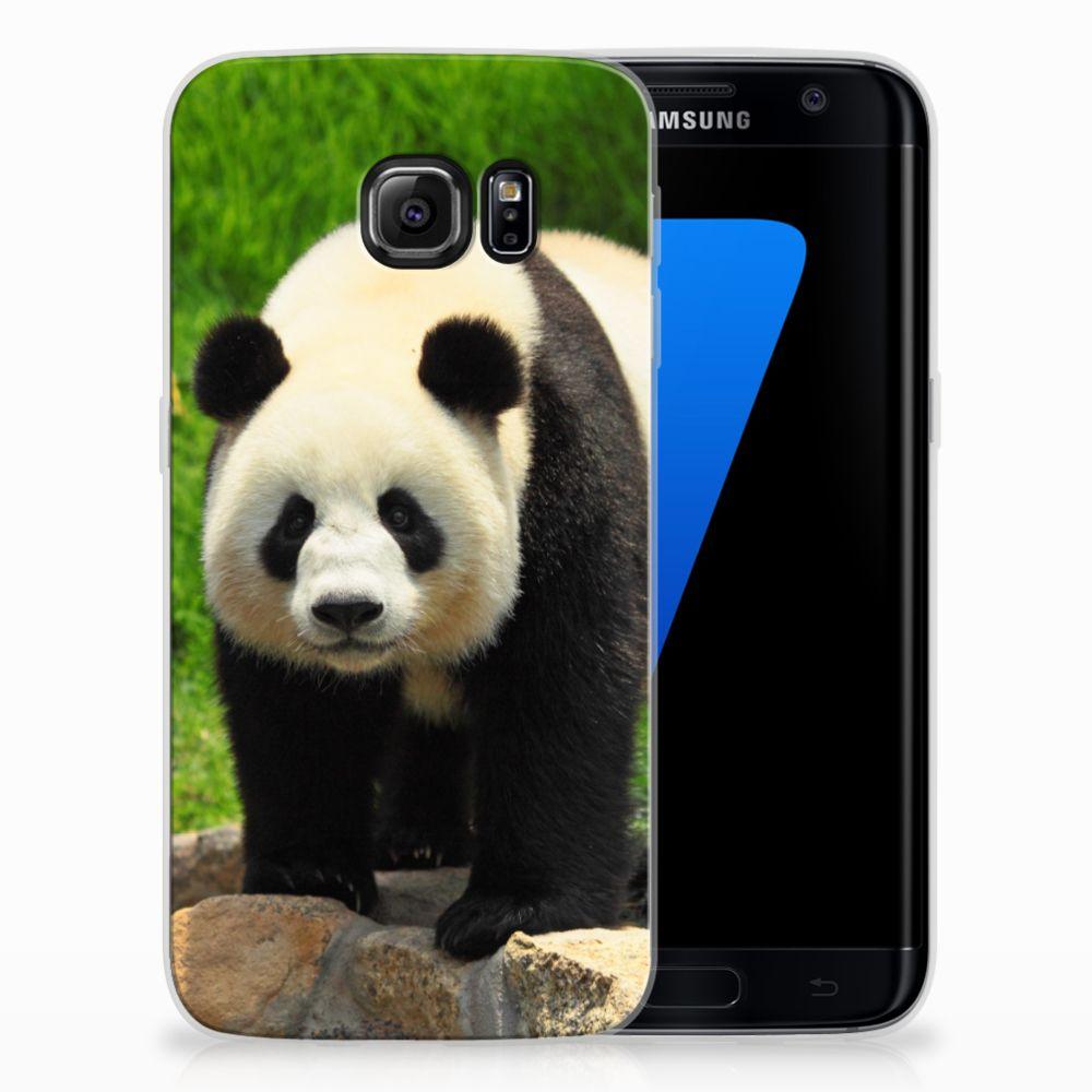 Samsung Galaxy S7 Edge TPU Hoesje Design Panda