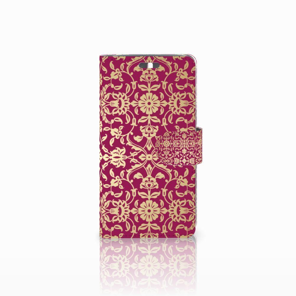 Wallet Case Huawei Y625 Barok Pink