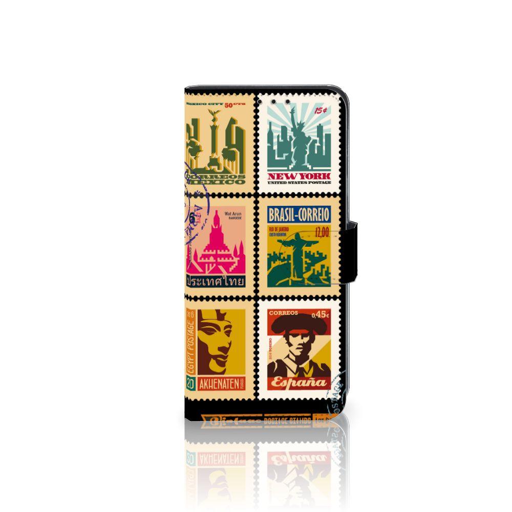 Huawei Mate 20 Lite Uniek Boekhoesje Postzegels