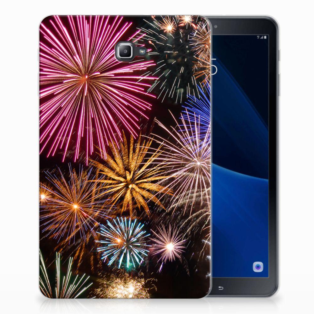 Samsung Galaxy Tab A 10.1 Tablethoesje Design Vuurwerk