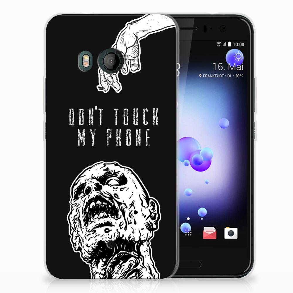 HTC U11 Uniek TPU Hoesje Zombie