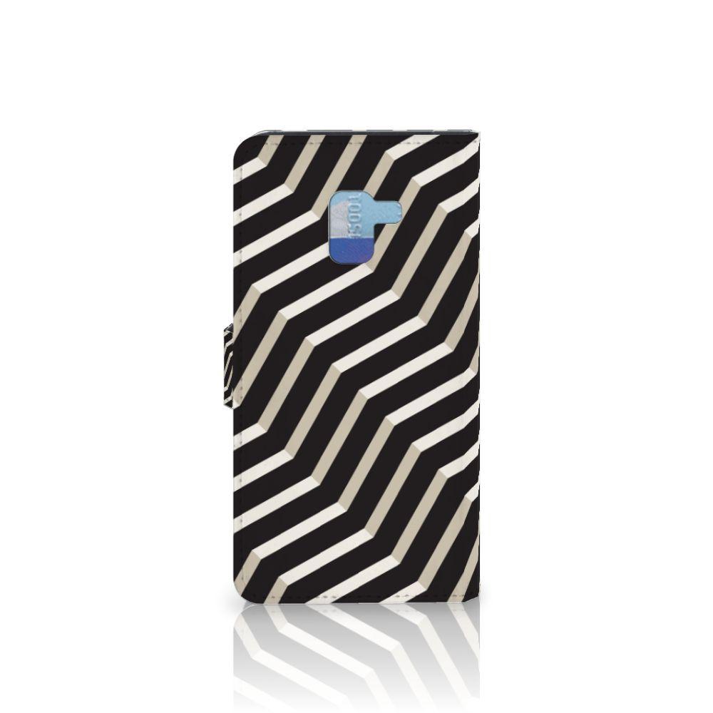 Samsung Galaxy A8 Plus (2018) Bookcase Illusion