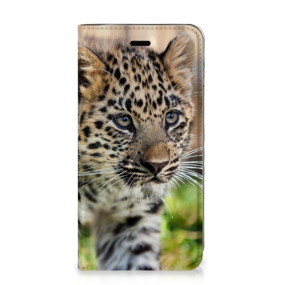 Apple iPhone 7 Plus | 8 Plus Hoesje maken Baby Luipaard