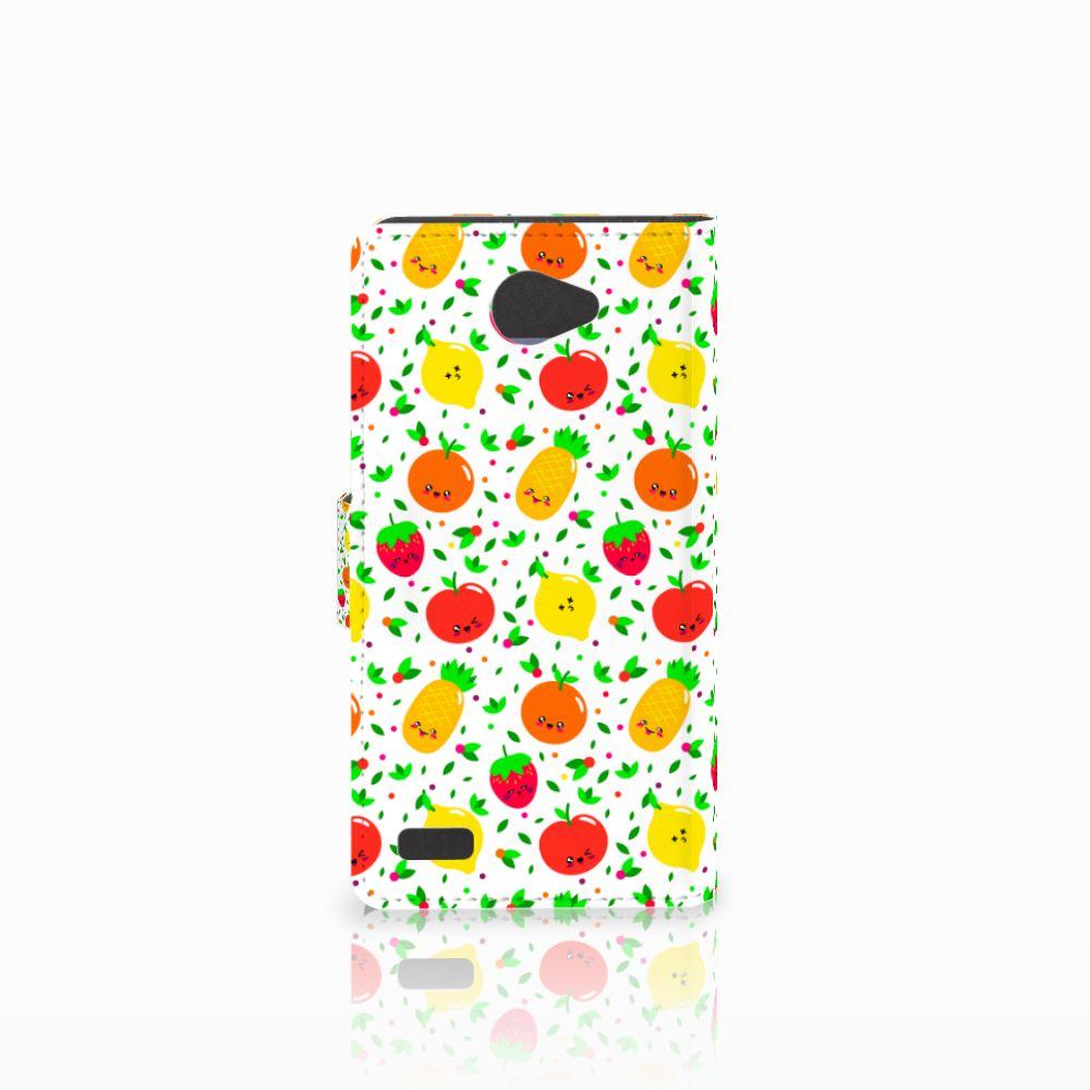 LG Bello 2 Book Cover Fruits