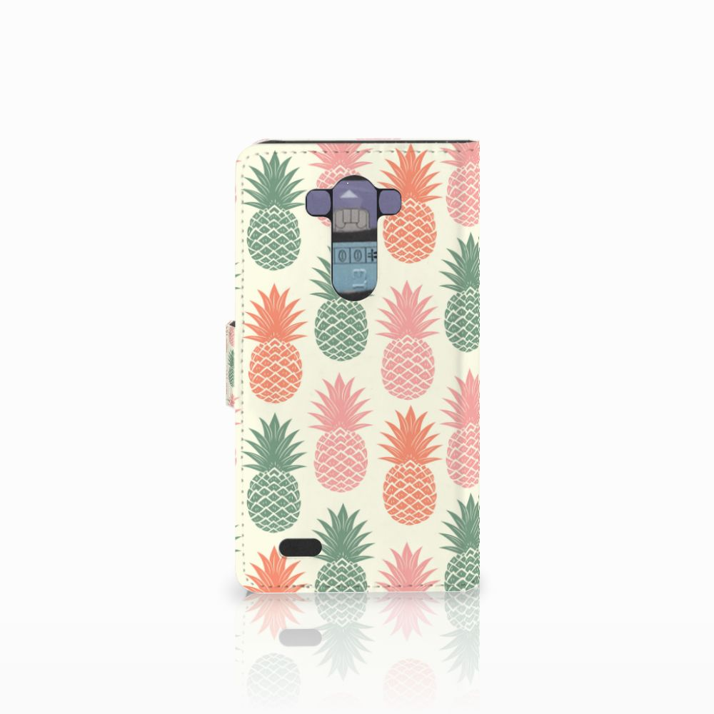 LG G3 Book Cover Ananas