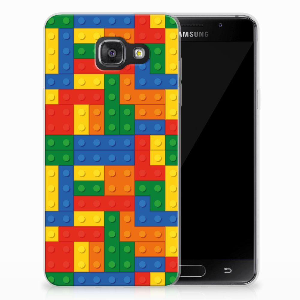 Samsung Galaxy A3 2016 TPU Hoesje Design Blokken