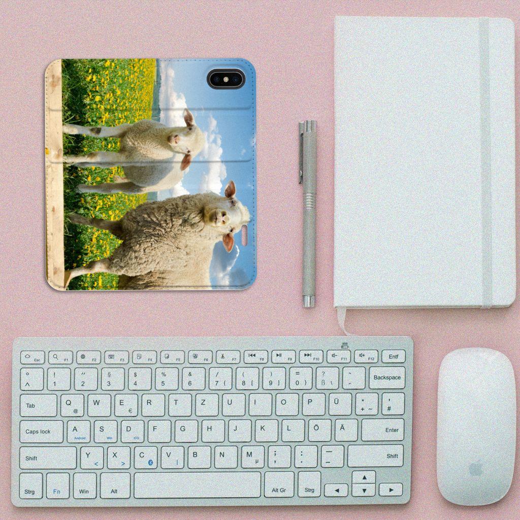 Apple iPhone X | Xs Hoesje maken Schaap en Lammetje