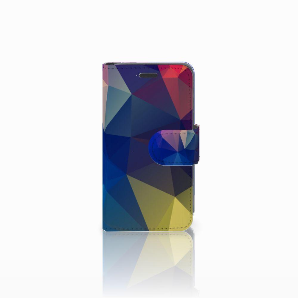 Nokia Lumia 520 Bookcase Polygon Dark