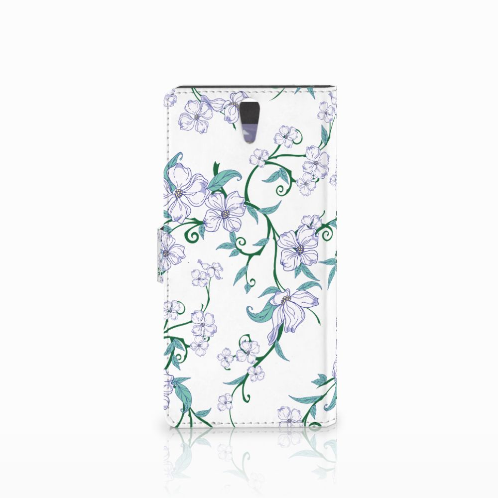 Sony Xperia C5 Ultra Uniek Hoesje Blossom White