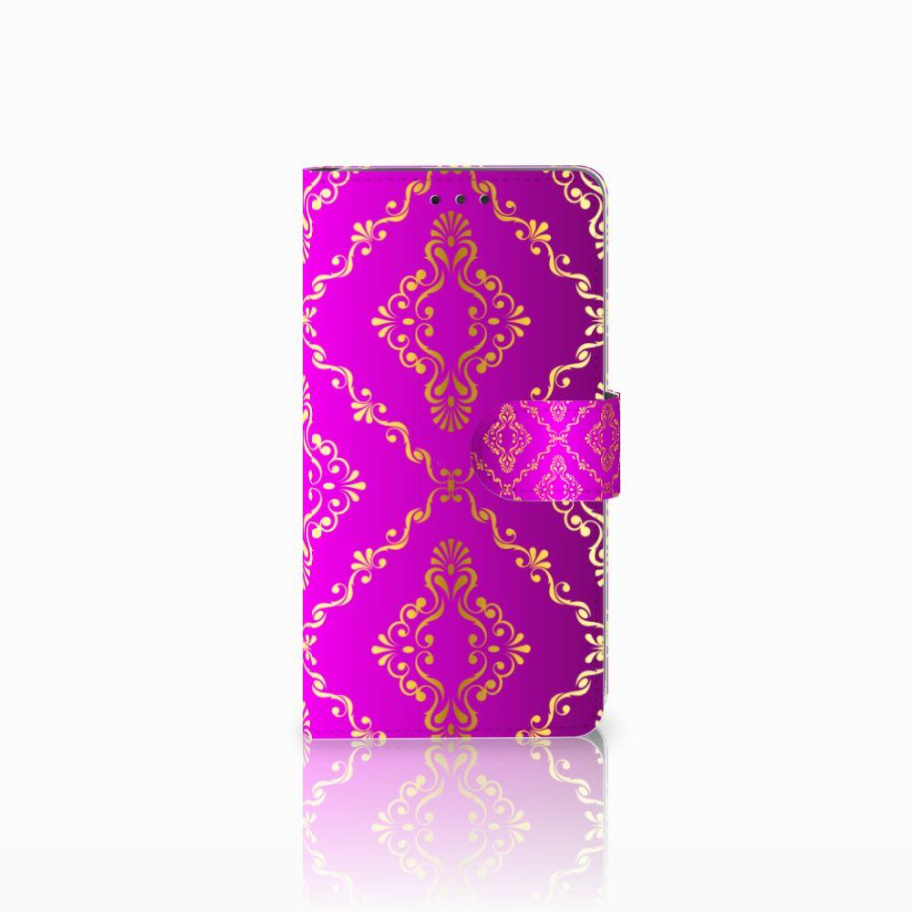LG G4 Uniek Boekhoesje Barok Roze