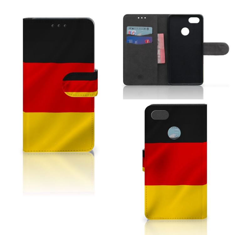 Huawei Y6 Pro 2017 Bookstyle Case Duitsland