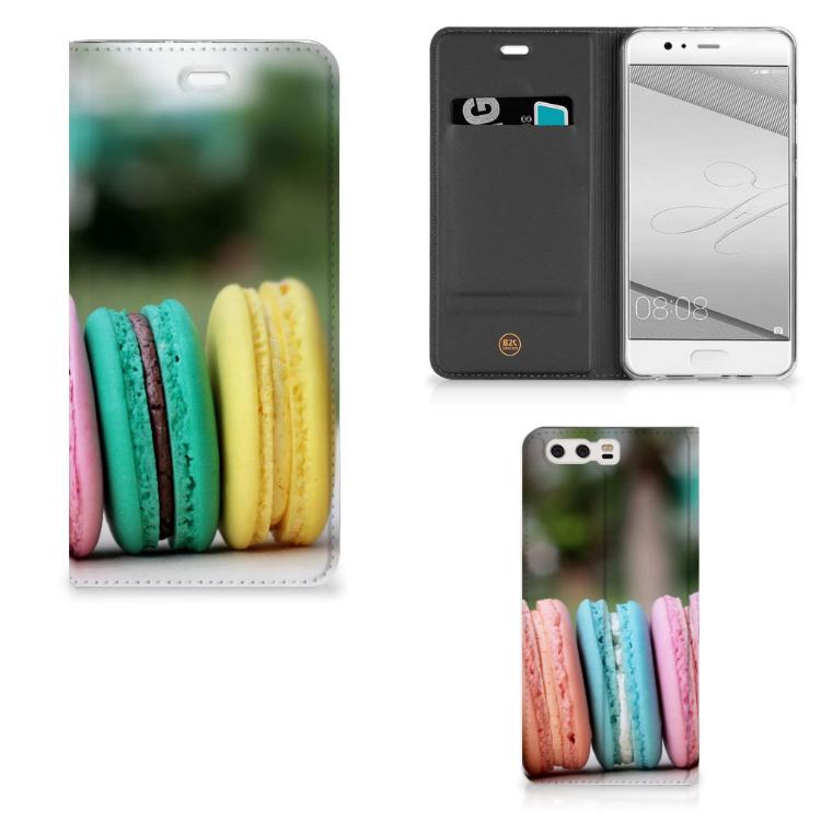 Huawei P10 Plus Flip Style Cover Macarons