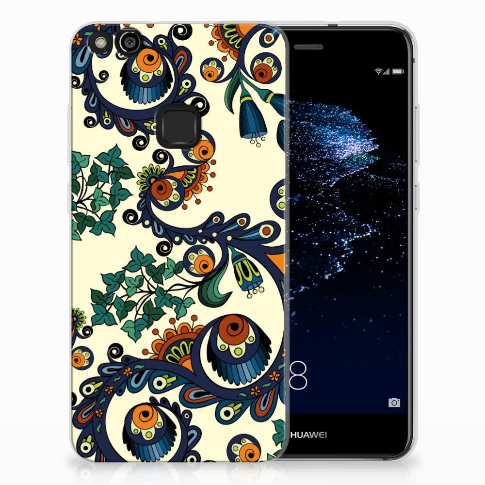 Huawei P10 Lite TPU Hoesje Design Barok Flower