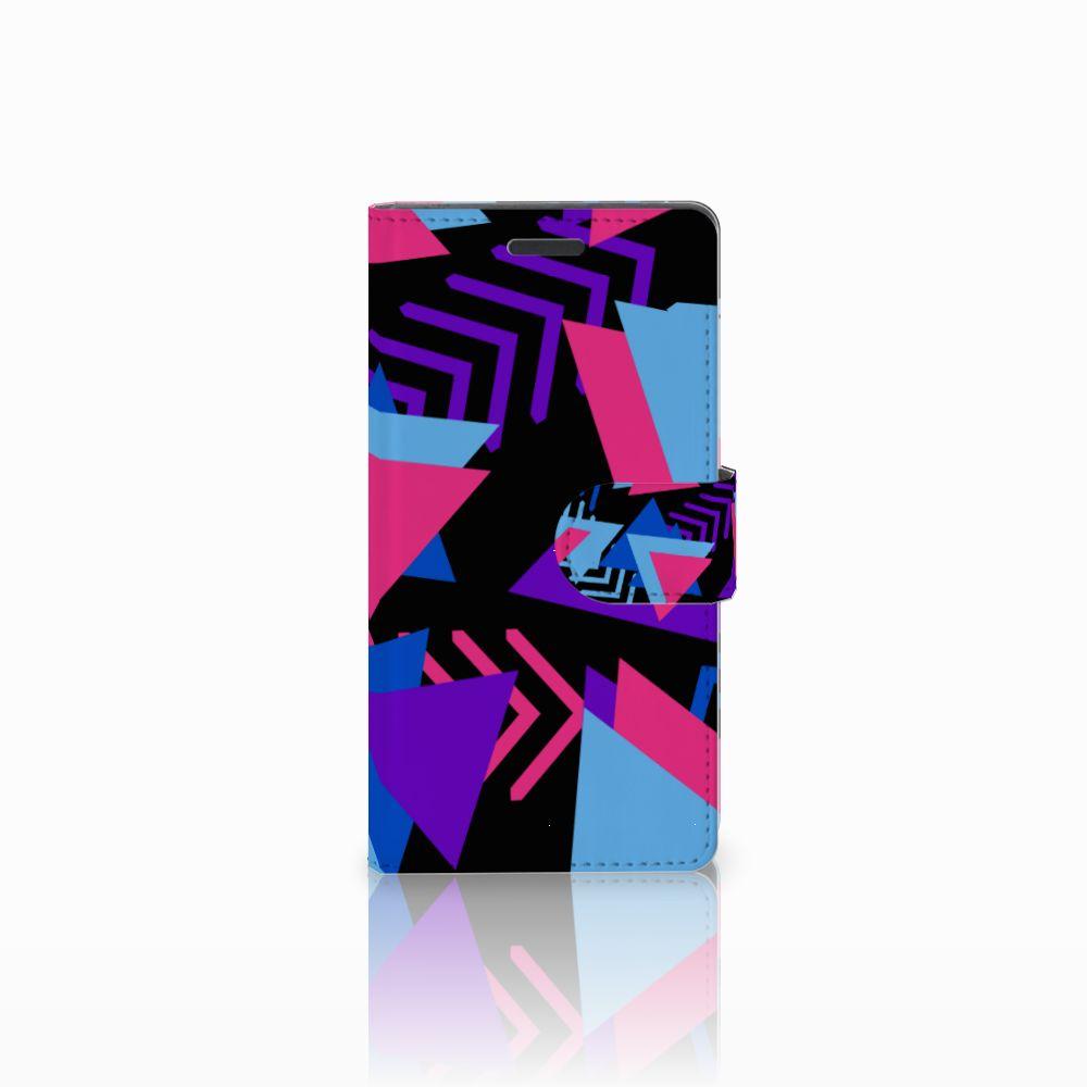 Nokia Lumia 830 Bookcase Funky Triangle