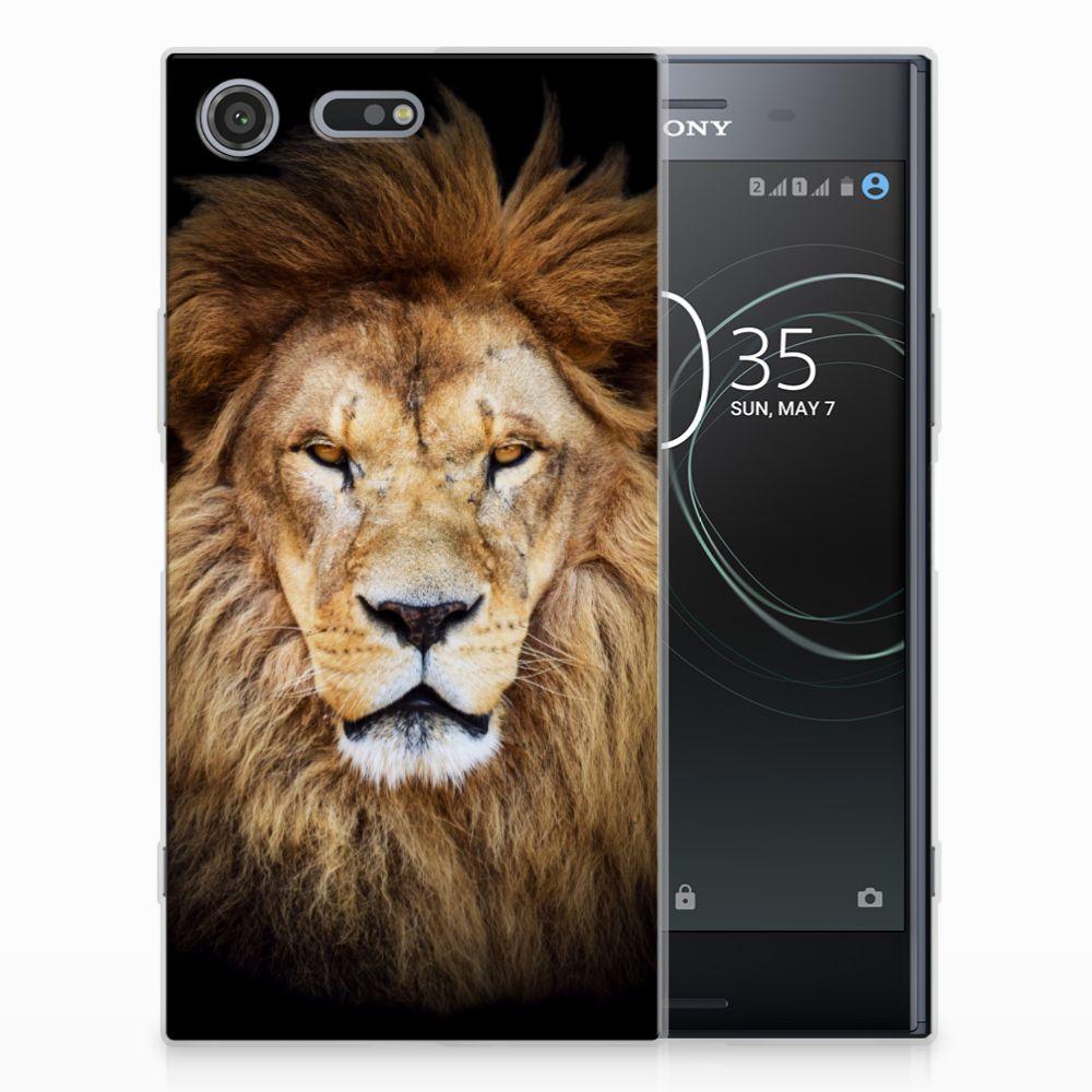 Sony Xperia XZ Premium TPU Hoesje Design Leeuw