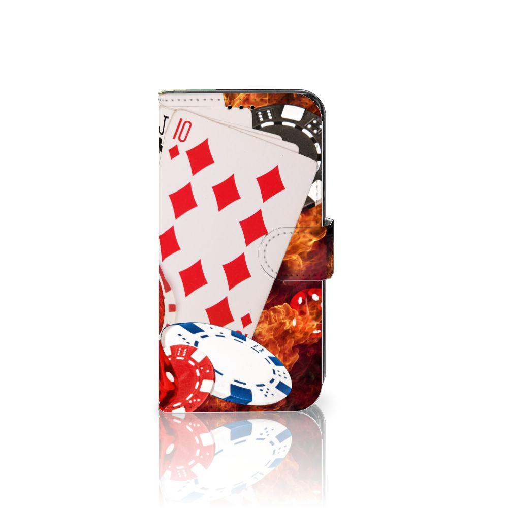Samsung Galaxy S7 Edge Uniek Boekhoesje Casino
