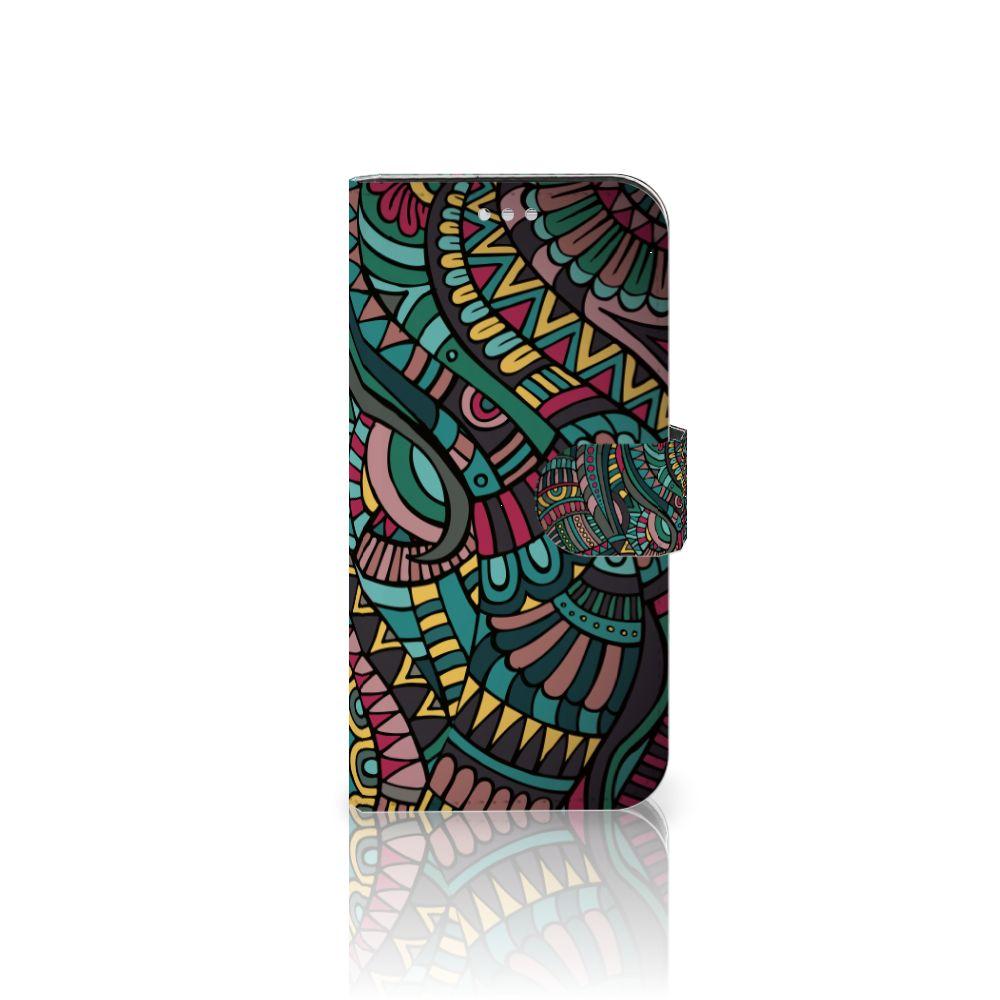 Samsung Galaxy S7 Boekhoesje Design Aztec