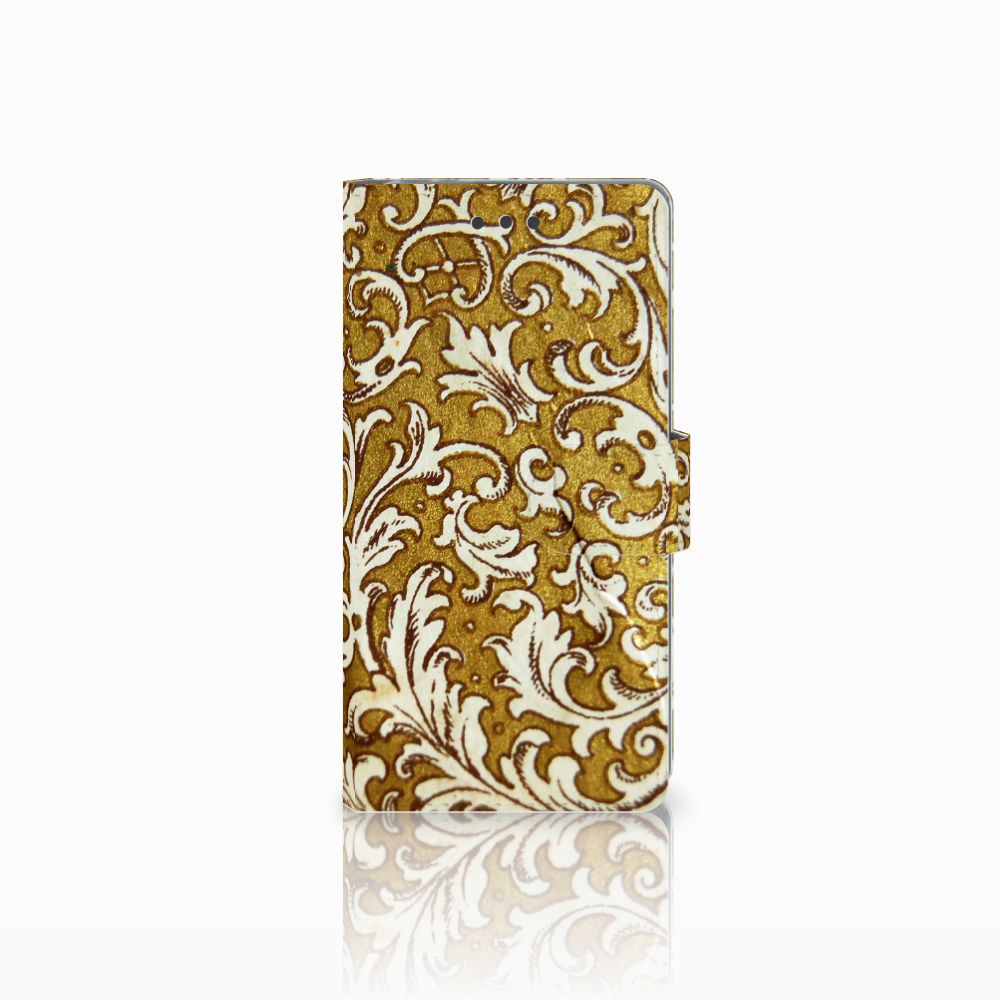 Sony Xperia E5 Boekhoesje Design Barok Goud