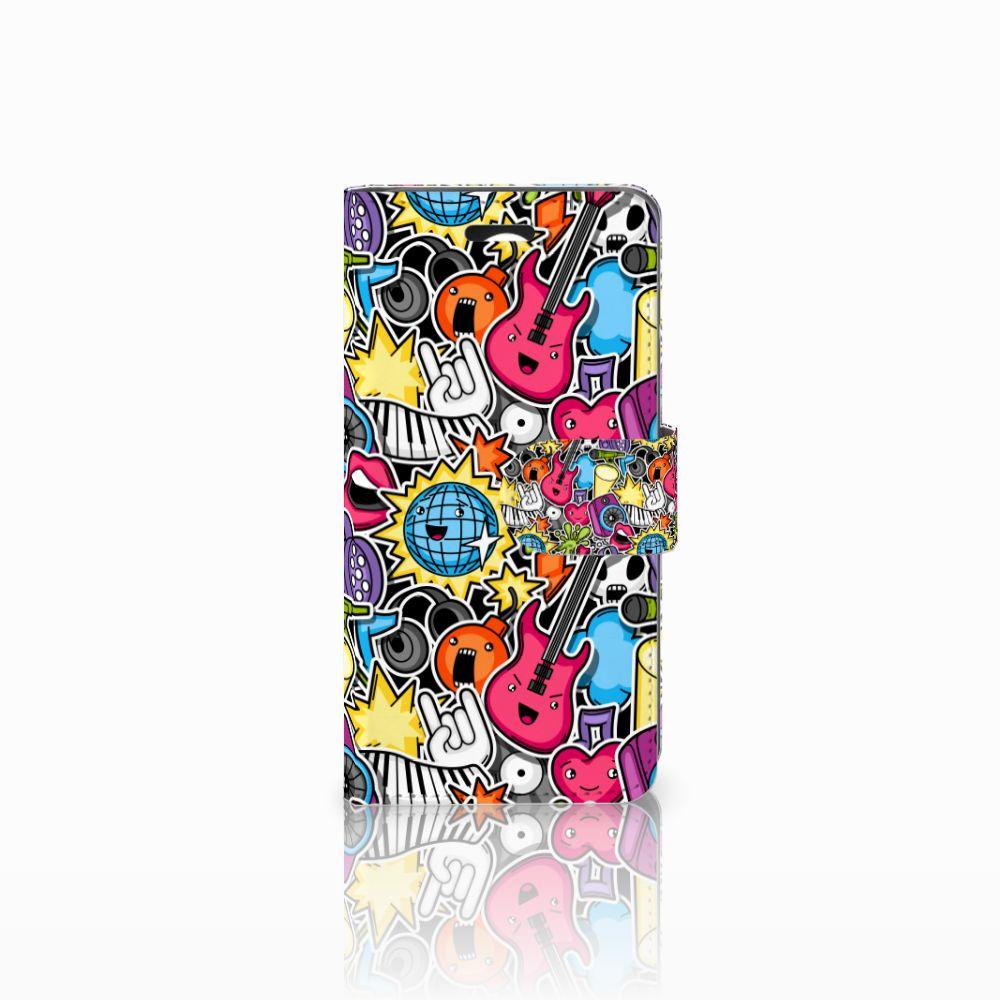 Huawei Y3 2   Y3 II Uniek Boekhoesje Punk Rock