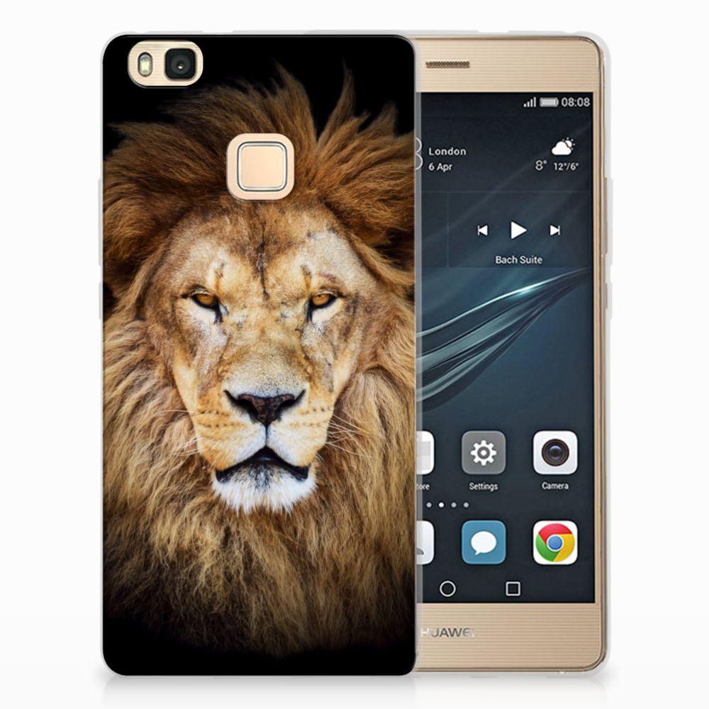 Huawei P9 Lite TPU Hoesje Design Leeuw