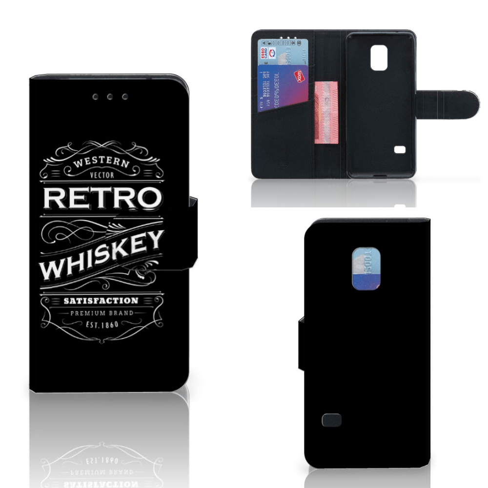 Samsung Galaxy S5 Mini Book Cover Whiskey