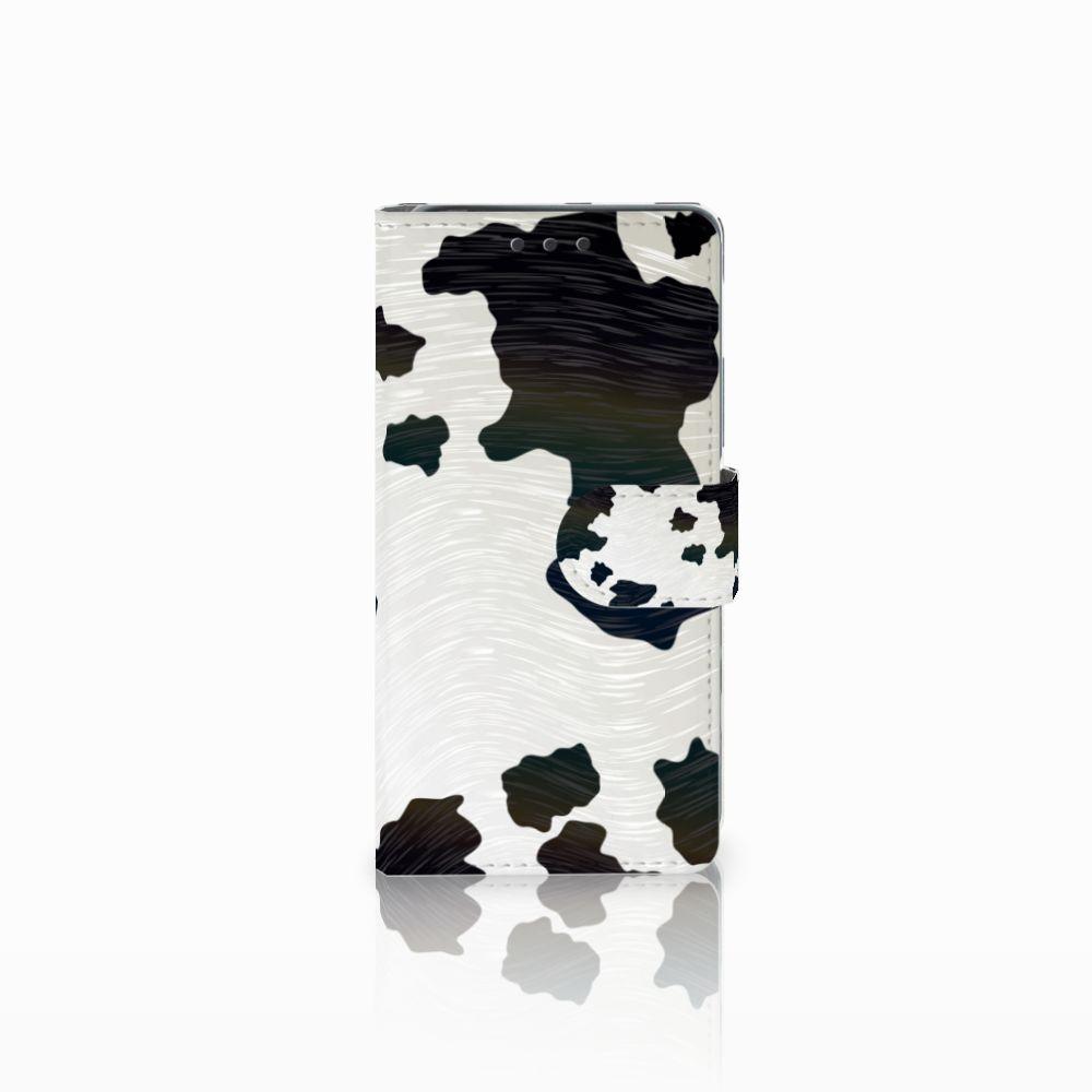 Sony Xperia X Telefoonhoesje met Pasjes Koeienvlekken